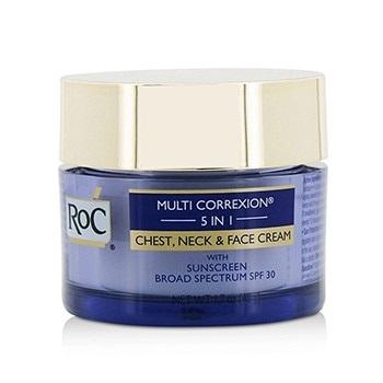 ROC Multi Correxion 5 in 1 Chest, Neck & Face Cream With Sunscreen Broad Spectrum SPF30