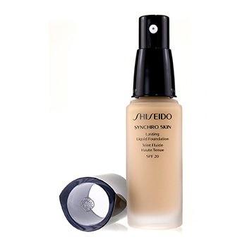 Shiseido Synchro Skin Lasting Liquid Foundation SPF 20 - Neutral 3