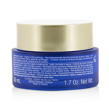 Clarins Multi-Active Night Targets Fine Lines Revitalizing Night Cream - For Normal To Dry Skin