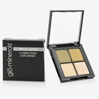 GloMinerals Brow Quad (2x Brow Powder, 1x Brow Highlighter, 1x Brow Wax) - Taupe