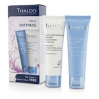Thalgo Ideal Softness Kit: Bio-Protective Cream 50ml + Immediate Bio-Soothing Mask 50ml