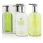 Molton Brown Puritas Hand Care Set: Fine Liquid Hand Wash 300ml/10oz + Soothing Hand Lotion 300ml/10oz