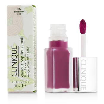 Clinique Pop Liquid Matte Lip Colour + Primer - # 05 Sweetheart Pop