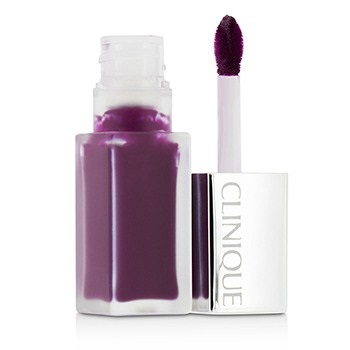 Clinique Pop Liquid Matte Lip Colour + Primer - # 08 Black Licorice Pop