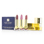 Estee Lauder Travel Exclusive 3 Pure Color Long Lasting Lip Jewels: 3x Mini Lipstick (#16 Candy, #23 Fig, #55 Blushing)