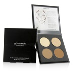 GloMinerals Contour Kit (1x Highlight, 1x Shimmer Highlight, 2x Contour) - Fair To Light