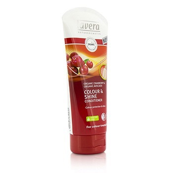 Lavera Organic Cranberry & Organic Avocado Colour & Shine Conditioner (For Colour-Treated Hair)