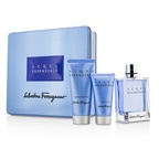 Salvatore Ferragamo Acqua Essenziale Coffret: EDT Spray 100ml/3.4oz + After Shave Balm 50ml/1.7oz + Shower Gel 100ml/3.4oz