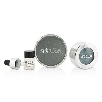 Stila Magnificent Metals Foil Finish Eye Shadow With Mini Stay All Day Liquid Eye Primer - Metallic Jade