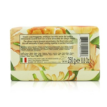 Nesti Dante Romantica Sensuous Natural Soap - Noble Cherry Blossom & Basil