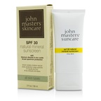 John Masters Organics Natural Mineral Sunscreen SPF30 - For All Skin Types (Exp. Date: 06/2017)