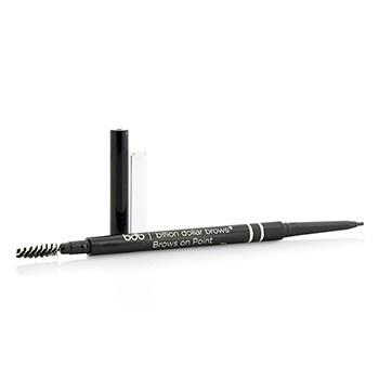 Billion Dollar Brows Brows On Point Waterproof Micro Brow Pencil - Raven