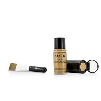 Stila Stay All Day Foundation, Concealer & Brush Kit - # 6 Tone (Box Slightly Damaged)