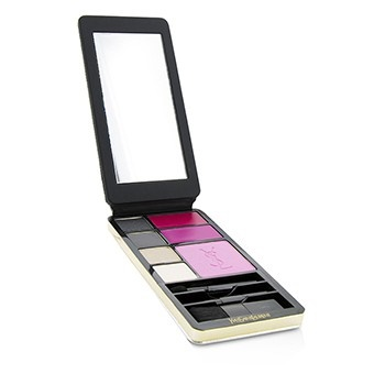 Yves Saint Laurent Very YSL Makeup Palette (Silver Edition) (1x Blush, 2x Lipcolour, 4x Eyeshadow, 3x Applicator)
