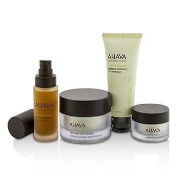 Ahava Firming Beauty Case: Lifting Mask 75ml + Day Cream 50ml + Night Treatment 30ml + Eye Cream 15ml+1bag