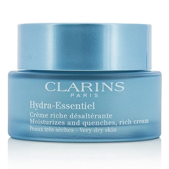 Clarins Hydra-Essentiel Moisturizes & Quenches Rich Cream - Very Dry Skin