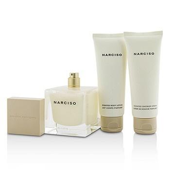 Narciso Rodriguez Narciso Coffret: EDP Spray 90ml/3oz + Body Lotion 75ml/2.5oz + Shower Cream 75ml/2.5oz