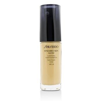 Shiseido Synchro Skin Glow Luminizing Fluid Foundation SPF 20 - # Golden 2