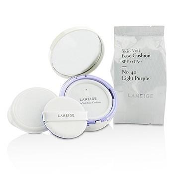 Laneige Skin Veil Base Cushion SPF 22 - #No. 40 Light Purple
