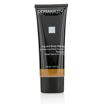 Dermablend Leg and Body Makeup Buildable Liquid Body Foundation Sunscreen Broad Spectrum SPF 25 - #Deep Golden 70W