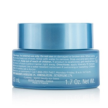 Clarins Hydra-Essentiel Moisturizes & Quenches Silky Cream SPF 15 - Normal to Dry Skin