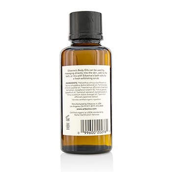Erbaviva Embrace Body Oil