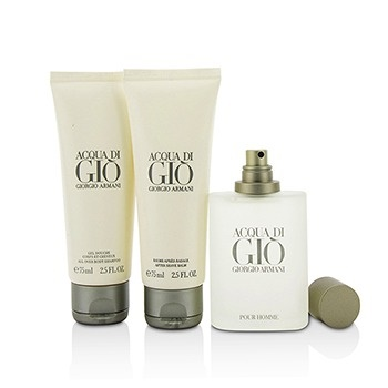 a7f09d925aee ... Giorgio Armani Acqua Di Gio Coffret  EDT Spray 50ml 1.7oz + All Over ...