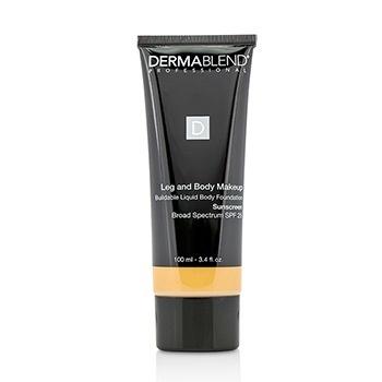 Dermablend Leg and Body Makeup Buildable Liquid Body Foundation Sunscreen Broad Spectrum SPF 25 - #Medium Golden 40W