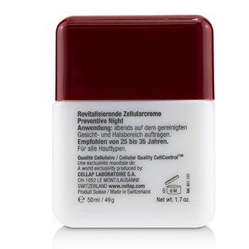 Cellcosmet & Cellmen Cellcosmet Preventive Cellular Night Cream