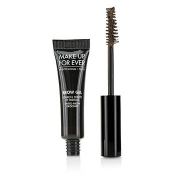 Make Up For Ever Brow Gel Tinted Brow Groomer - # 45 (Dark Brown)