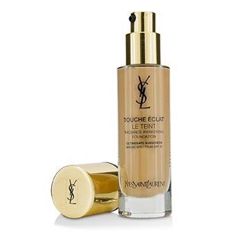 Yves Saint Laurent Touche Eclat Le Teint Radiance Awakening Foundation SPF22 - #BR30 Cool Almond