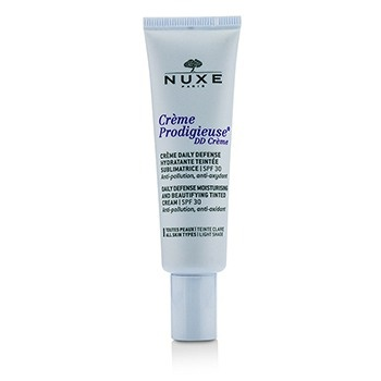 Nuxe Creme Prodigieuse DD Creme Daily Defense Moisturising & Beautifying Tinted Cream SPF 30 - Light Shade