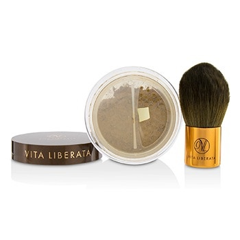 Vita Liberata Trystal Minerals Self Tanning Bronzing Minerals With Kabuki Brush - # 01 Sunkissed