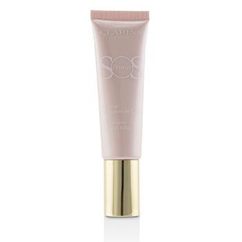Clarins SOS Primer - # 01 Rose (Minimizes Signs Of Fatigue)