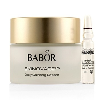 Babor Skinovage PX Calming Sensitive Daily Calming Cream (with Free Collagen Booster Fluid 2ml) - For Sensitive Skin