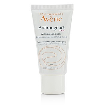 Avene Antirougeurs Calm Redness-Relief Soothing Mask - For Sensitive Skin Prone to Redness