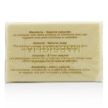 Nesti Dante Vero Marsiglia Natural Soap - Almond (Emollient & Softening)