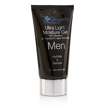 The Organic Pharmacy Men Ultra Light Moisture Gel - Hydrate & Refresh - For Normal & Oily Skin