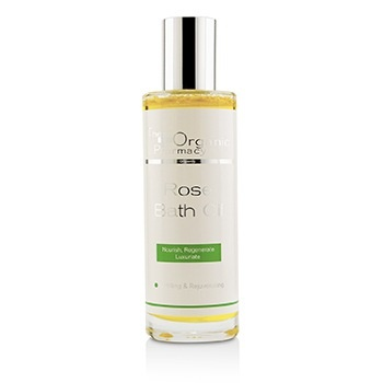 The Organic Pharmacy Rose Bath Oil - Uplifting & Rejuvenating