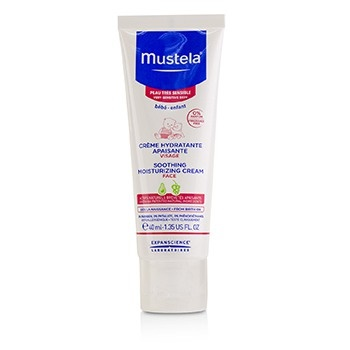 Mustela Soothing Moisturizing Cream For Face - For Very Sensitive Skin