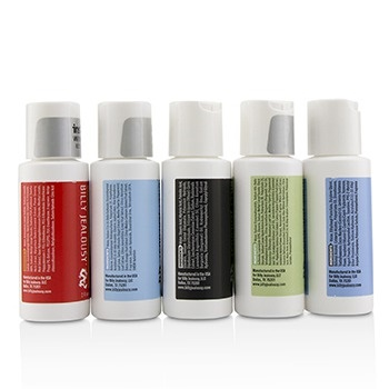 Billy Jealousy Value Travel Kit: Facial Cleanser 60ml + Shave Lather 60ml + Shampoo 60ml + Body Scrub 60ml + Body Moisturizer 60ml