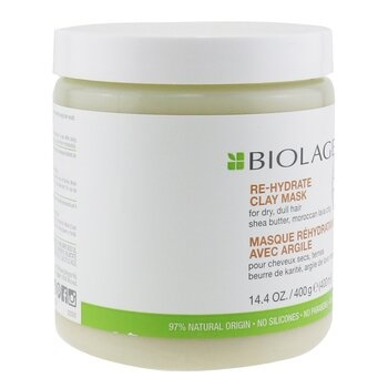 Matrix Biolage R.A.W. Re-Hydrate Clay Mask (For Dry, Dull Hair)