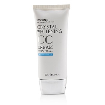 3W Clinic Crystal Whitening CC Cream SPF 50+/PA+++ - #01 Glitter Beige