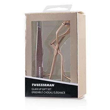 Tweezerman Rose Gold Glam Up Gift Set