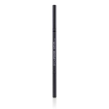 LashFood BrowFood Ultra Fine Brow Pencil Duo - # Charcoal
