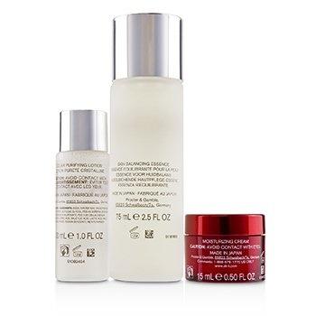 SK II Pitera Welcome Kit:  Facial Treatment Essence 75ml + Facial Treatment Clear Lotion 30ml + R.N.A. Power Cream 15ml