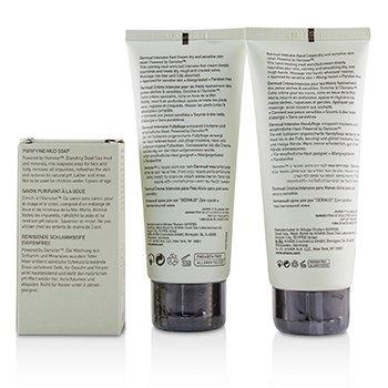 Ahava Elements Of Love Mud-Rich Moments Gift Set: Hand Cream 100ml + Foot Cream 100ml + Purifying Mud Soap 100g