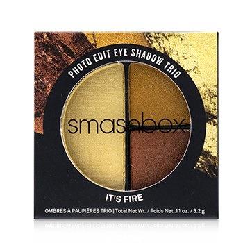 Smashbox Photo Edit Eye Shadow Trio - # It's Fire (Pushup Bronze, Sizzle Reel, Pixel Dust)