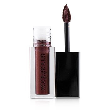 Smashbox Always On Metallic Matte Lipstick - Vino Noir (Burgundy & Red Pearl)