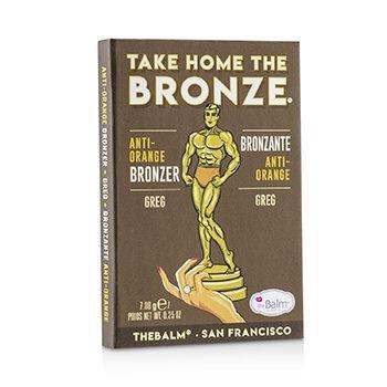 TheBalm Take Home The Bronze Anti Orange Bronzer - # Greg